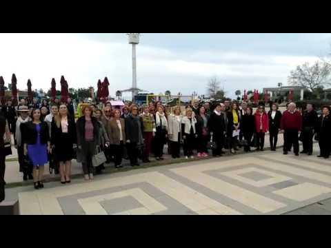 Konyaaltı Kent Meydanı 8 Mart Töreni