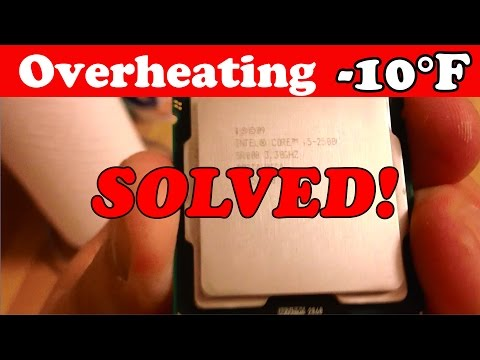 How to Fix Overheating CPU (Computer) Decrease Temps by 10 degrees