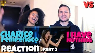 Charice Pempengco - I have nothing (Whitney Houston) - VS - Reaction Pt. 2