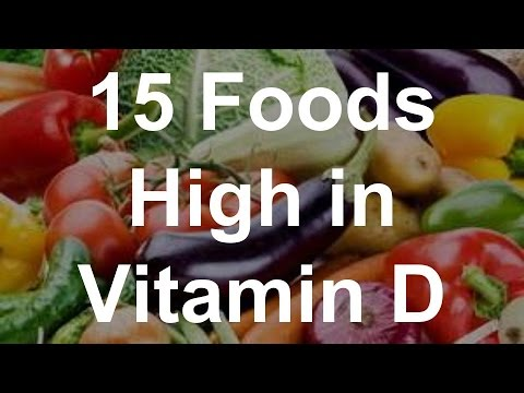 Video 15 Foods High in Vitamin D