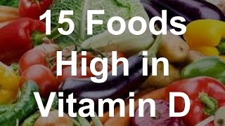 15 Foods High in Vitamin D