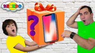 Камилю Купили IPhone X ?  Гигантская посылка РАСПАКОВКА с GEARBEST funny for Kids