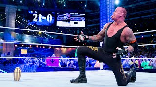 The Undertaker's legendary WrestleMania Undefeated Streak: WWE Playlist