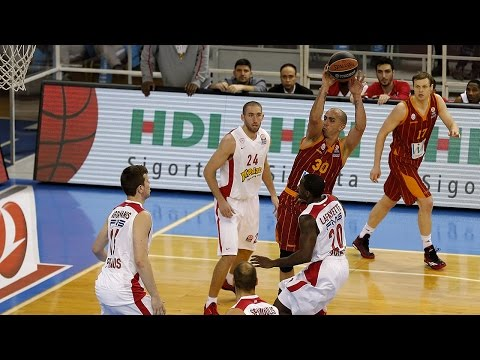 Highlights: Galatasaray Liv Hospital Istanbul-Olympiacos Piraeus