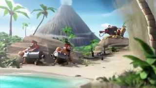 Boom Beach Full Animated Movie  FULL HD