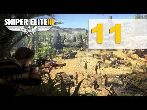 Sniper Elite 3 Прохождение на русском Перевал Кассерин Часть 11