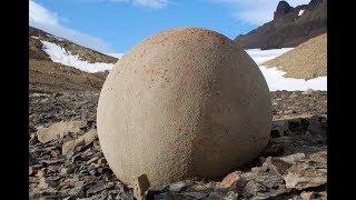 Zhutnené kamenné gule po svete
