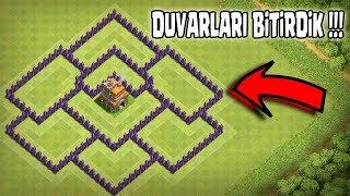DUVARLARI BİTİRDİK !!(Sonunda !) |Clash Of Clans