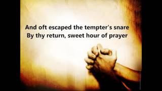 Sweet Hour of Prayer with Lyrics by Alan Jackson