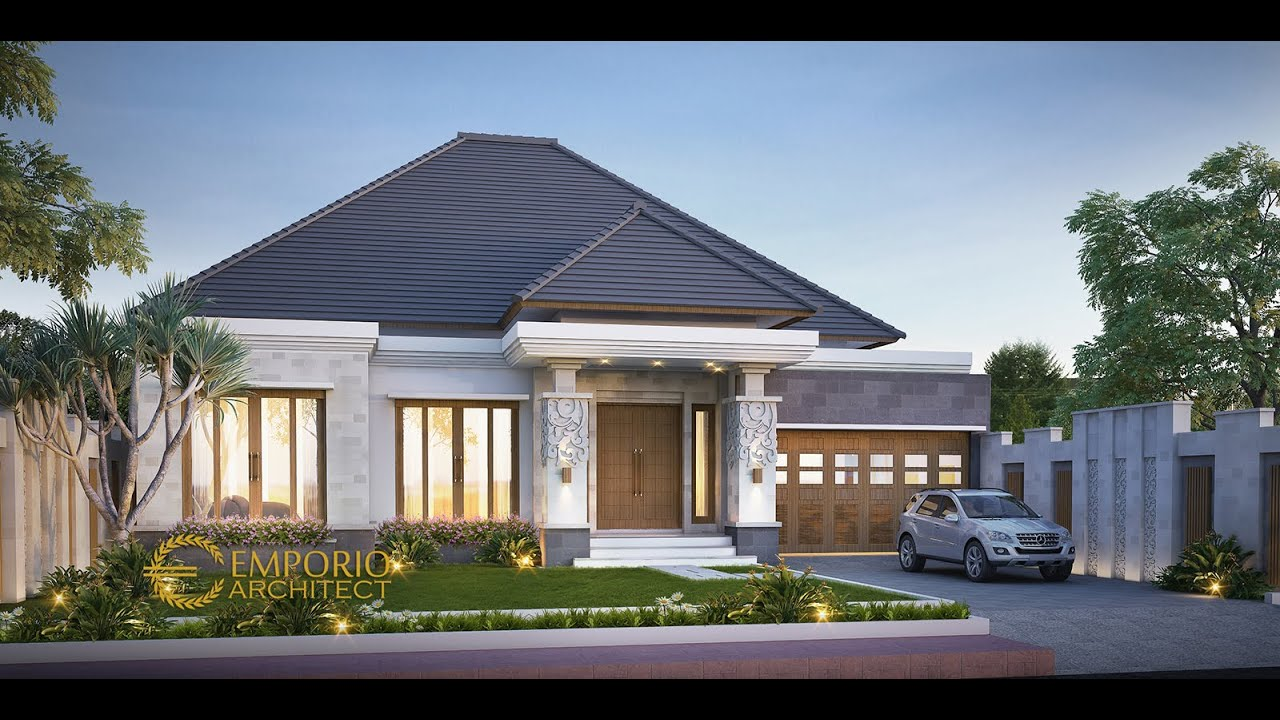 Video 3D Desain Rumah Villa Bali 1 Lantai Bapak Dwi Irawan II di Cirebon, Jawa Barat