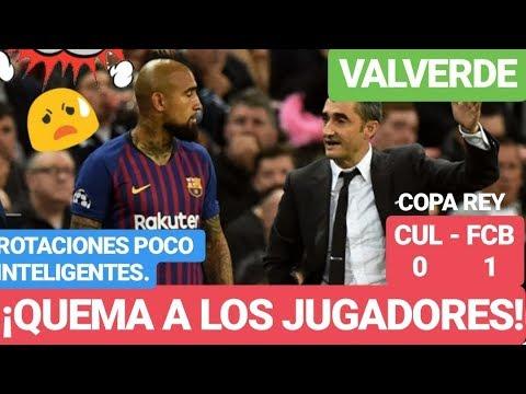 ¡¡EL BARÇA y VALVERDE QUEMA A CRACKS y GANA 0 - 1!! ¡COPA del REY! FC BARCELONA NOTICIAS