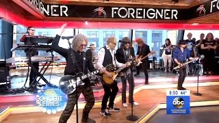 Foreigner - Performs Feels Like The First Time - GMA