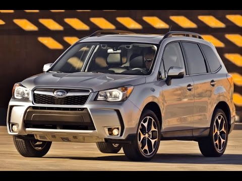 2015 Subaru Forester Start Up and Review 2.0 L Turbo 4-Cylinder