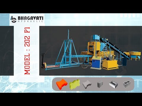 Fully Automatic High Pressured Fly Ash Bricks & Blocks Plant With Vibro Compact System