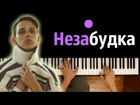 Тима Белорусских - Незабудка ● караоке | PIANO_KARAOKE ● + НОТЫ & MIDI