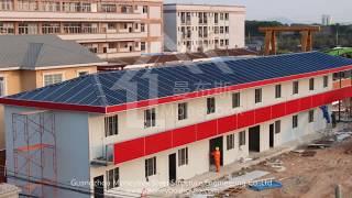 Prefab House Installation