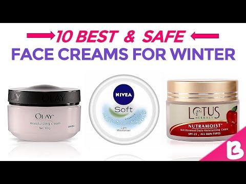 10 Best Face Creams for Winter in India with Price | Day & Night Winter Skin Care