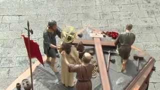 preview picture of video 'Cofradía Jesús Nazareno vulgo Congregación. Procesión del Viernes Santo. - Semana Santa Zamora 2015'