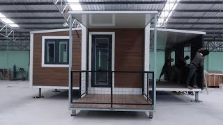 Container Home That Quickly Expands