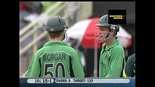 2007 Ireland Vs Pakistan Pt 1