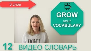 видео словарь английского языка 12