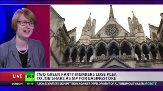 Two Green Party Members Lose Mp Job Share Plea