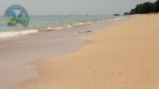 """11 Hrs. """"Real"""" Beach Waves - Gentle Waves on Sandy Beach Video - Pure Nature Sound and Video"""