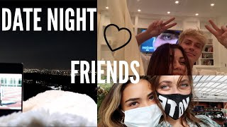 DATE NIGHT, SHOPPING & HAIR ROUTINE! *weekend vlog* | Amelie Zilber