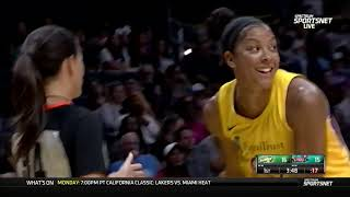 Seattle Storm-Los Angeles Sparks. 04-08-19.