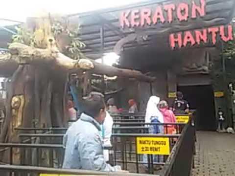 Video Rumah hantu di Jatim park 2 batu malang