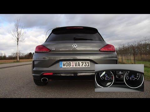 Soundcheck & Beschleunigung – VW Scirocco R