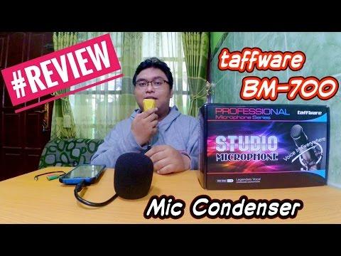 Gadget - Review Taffware BM-700 (Bisa Buat Sing! Smule) | Mic Condenser