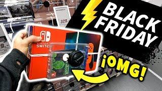 Visitando TIENDAS En Pleno BLACK FRIDAY Donde Venden Nintendo SWITCH  😲 ¿Buen Precio?