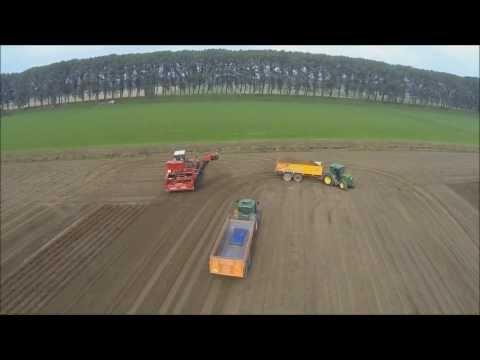 # 10 А вот так собирают картофель в Голландии: