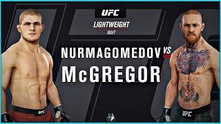 EA Sports UFC 3 - Khabib Nurmagomedov vs Conor McGregor Simulation | PS4 Pro Gameplay