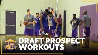 WATCH: Teaser of this morning's draft workouts