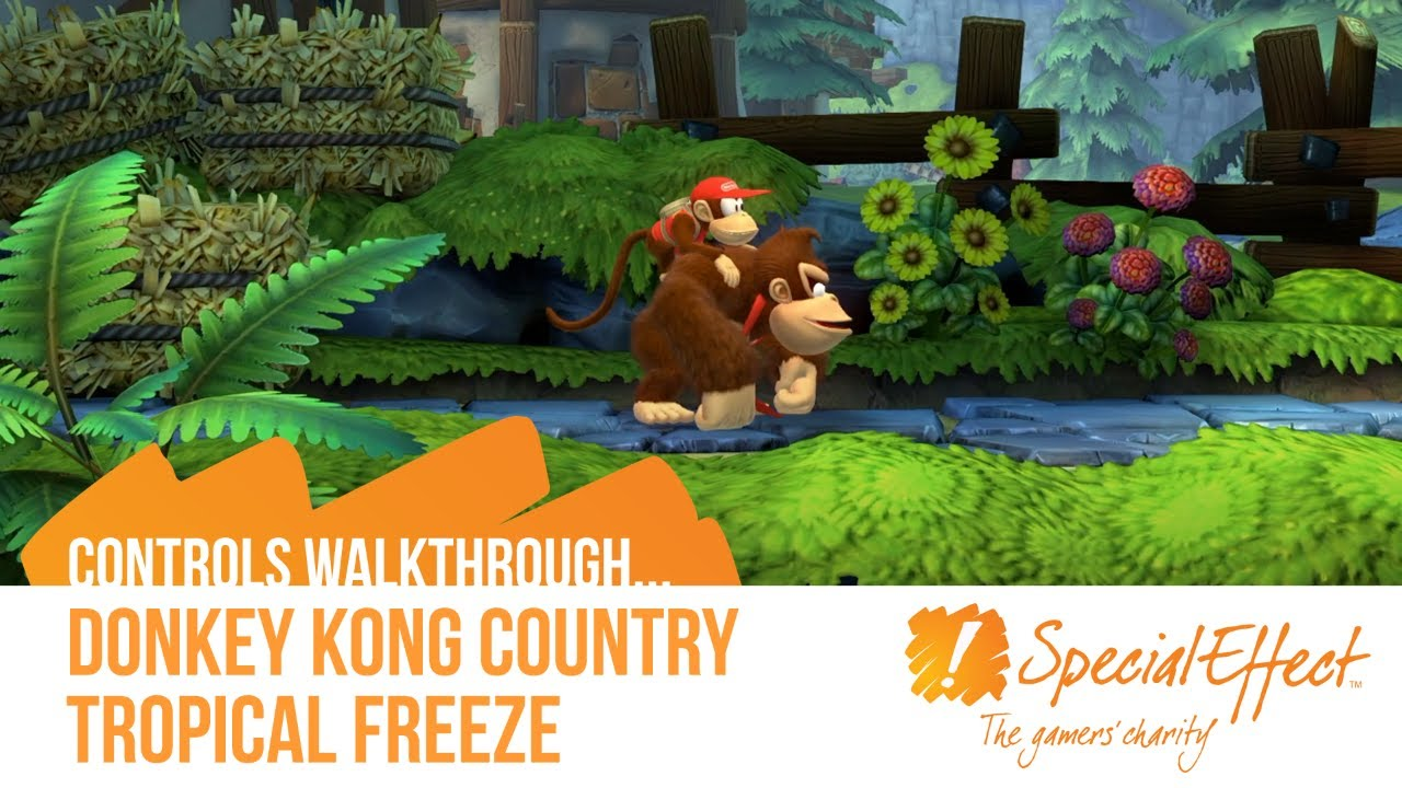 video placeholder for Donkey Kong Country Tropical Freeze | Controls Walkthrough