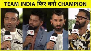 SALAAM CRICKET 2021: Champions की मिलकर Team India से एक ही मांग, 'फिर बनो चैंपियन'   Sports Tak