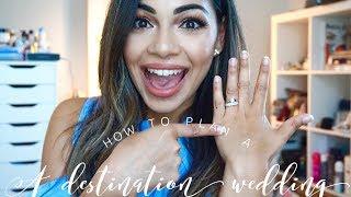 How To Plan A Destination Wedding + Budget/ Tips/Advice | AMarieBeauty