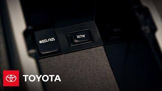 2010 Prius How-To: Auxiliary Audio Jack   Toyota