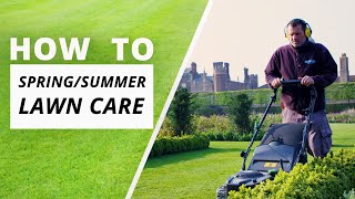 How to care for your grass - Spring/Summer lawn care | Hampton Court Palace Gardens