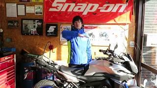 ローダウン&シート形状の変更を頑張ってます!YAMAHA MT-09 TRACER 山形県酒田市バイク屋 SUZUKI MOTORS