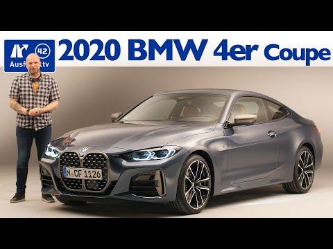 2020 BMW 4er Coupe (G22) Weltpremiere, Sitzprobe, kein Test