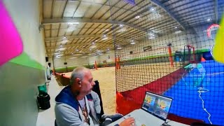 DJI FPV HD Pilot VR Drone racing indoors test 1 Live