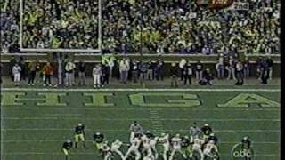 2001: Ohio State v. Michigan (Drive-Thru)