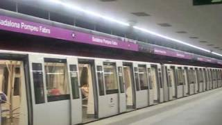 preview picture of video 'Metro Barcelona. De Sant Antoni a Badalona Pompeu Fabra (L2)'