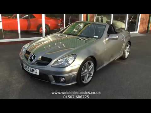 SOLD - 2008 Mercedes SLK 55 AMG For Sale In Louth, Lincolnshire