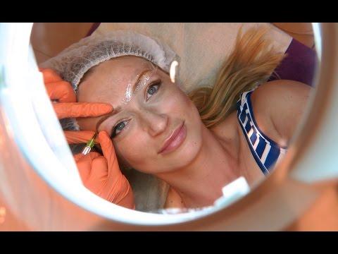 Makijaż szkło z vesnushkami wideo
