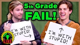 Are You Smarter Than A 5th Grader? w/ Because Science & Vsauce3 (St. Jude Charity Livestream)