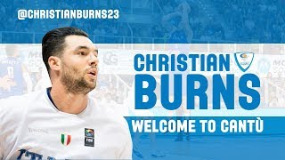 Welcome Christian Burns